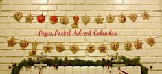 Make a paper packet advent calendar // Junk in the Trunk Vintage Market
