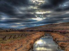 Kurt Wilcox, along the beautiful Portneuf River