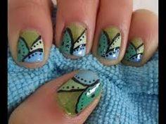Resultado de imagen para nail art uñas cortas