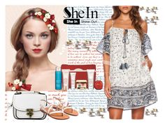 """SheIn VI/2"" by ena-ena ❤ liked on Polyvore featuring Bourjois, Clarins, vintage and Sheinside"