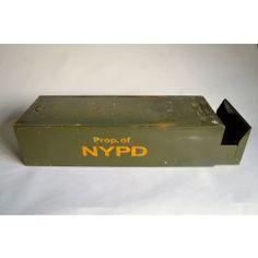 New York Metal Drawer - NYPD #pedlarsfridayvintage #vintage #newyork #policedepartment