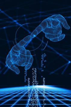 Blue Technology Technological Sense Business Atmosphere