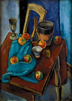 Max Weber, Strewn Apples, 1923