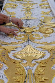 www.senatus.es - Forum COFRADE Le Senatus - - ateliers de broderie: Restaurations et nouvelles. - ART
