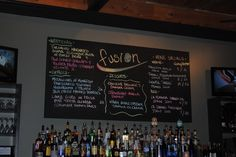Very nice example how to use our Chalk Markers for advertising your drinks in Bars & Restaurants