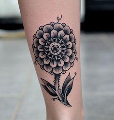 Cool mandala flower. #tattoo #tattoos #Ink