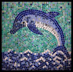 Dolphin Mosaic by ~FranticVlankie on deviantART