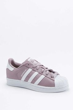 adidas Originals Superstar Mauve Superstar Trainers - Urban Outfitters Supernatural Style
