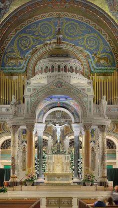 Cathedral Basilica of Saint Louis, in Saint Louis, Missouri