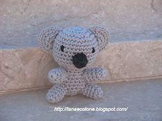Free Amigurumi Koala Pattern : Cute koala amigurumi crochet pattern pdf