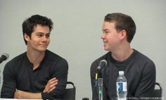 Dylan and Will Poulter - The Maze Runner