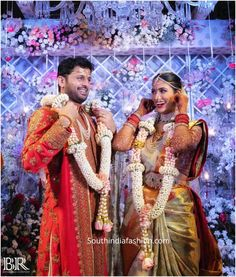 nithiin and shalini wedding scaled e1595806977707 Indian Wedding Henna, Indian Bridal, Wedding Story, Wedding Pics, Wedding Reception Outfit, Indian Bridesmaids, Traditional Indian Wedding, Indian Wedding Photography, South Indian Bride