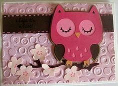 Cricut My Way: I hope its a hoot - Cricut Create a critter card
