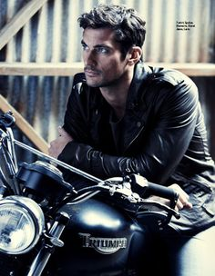 """David Gandy.... Would make a great a great """"Tack"""" for Kristen Ashley's """"Motorcycle Man"""""""