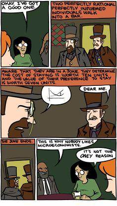 Why I Study Behavioral Economics, In Cartoon Form…