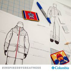 Designed by Columbia exclusively for athletes representing Russia. #INSPIREDBYGREATNESS