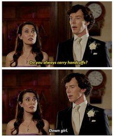 #Sherlock Holmes #Benedict Cumberbatch #Janine #Post #BBC #Sherlock #Moffat #221 B Baker Street #Baker Street #221 #Mark Gatiss #Wedding