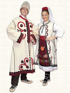 Serbian Folk Costume -Winter Srpska Narodna Nosnja