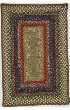 Homespice Decor Star Blossom by Homespice Decor. $63.00. Heat up your health with a braided rug in ruby red, sapphire blue and hunter green, accented with soft olives, cream and deep golden mustard. Definitely not ordinary!