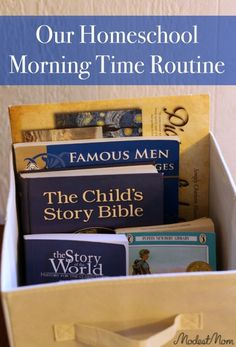 Our homeschool morning time is a crucial part of our homeschool day. It seems to be a popular discussion right now online. Some people call it morning basket time, morning meeting, or circle time, but we just call it morning time at our house.