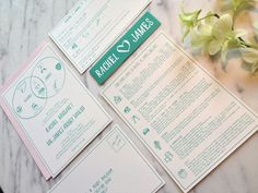 Bespoke wedding invitation design by Kalo Make Art - www.kalomakeart.com