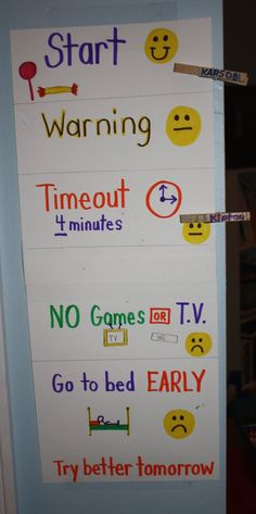 AWESOME and SIMPLE discipline system for young kids!