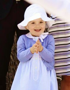 HRH Princess Estelle of Sweden  May 17, 2014