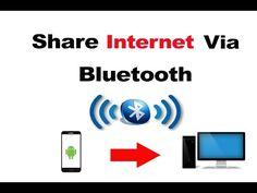 Share Internet Via Bluetooth - Android to Desktop