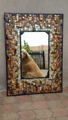 Espejo mosaico.