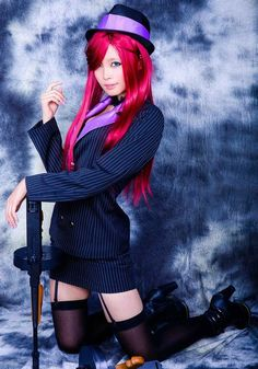League of Legends Mafia Miss Fortune Cosplay