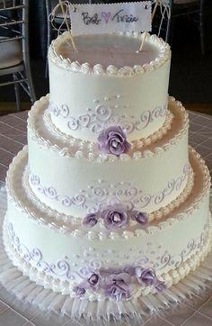 Photo Gallery: Buttercream Creative Wedding Cakes, Amazing Wedding Cakes, Elegant Wedding Cakes, Elegant Cakes, Wedding Cake Designs, Purple Wedding Cakes, Wedding Cupcakes, Wedding Cake Toppers, Bling Wedding
