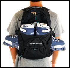 Bag Skate, Skate Backpack, Aggressive Inline Skates, Inline Skating, North Face Backpack, Skateboard, Backpacks, Bags, Fashion