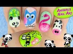 Sara beauty corner animal nail art