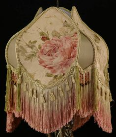 Victorian Roses Lampshade Handmade w/ Vintage by plainjaneshop, $195.00
