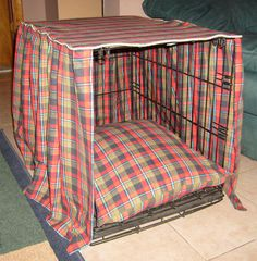 (seemingly) easy #dog #crate #cover.