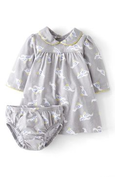 Mini Boden 'Pretty' Jersey Dress (Baby Girls) available at #Nordstrom