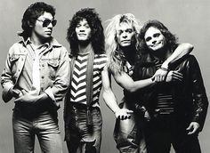 Ahhh Van Halen....weren't they the start of the hair band era...if this doesn't say so I don't know what is but Eddie's guitar turned me onto guitarists in general!
