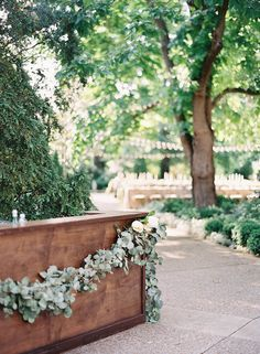 garland.  http://www.oncewed.com/real-weddings/natural-outdoor-nashville-wedding/