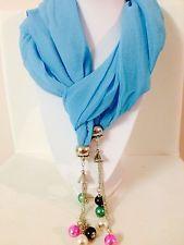 New elegant top fashion jewellery pendant scarf