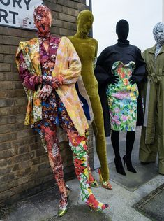 fall into richard quinn's floral dystopia - i-D