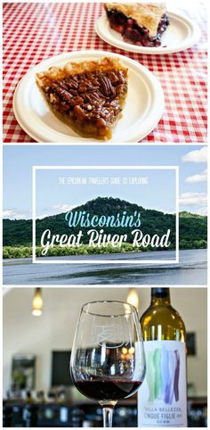 Where to stay, eat, and drink wine along Wisconsin's National Scenic Byway, the Great River Road via EpicureanTravelerBlog.com