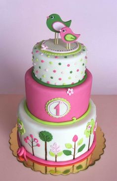 First birthday cake- I wish, LOL. I'm thinking - First birthday cake- I wish, LOL. I'm thinking cupcakes but I just love this too much not to pin :)  Repinly Holidays & Events Popular Pins