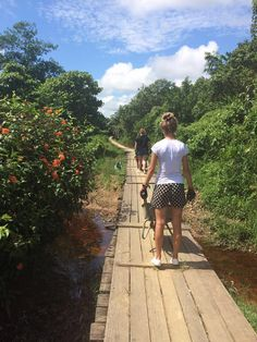 #Borneo girls helping a local community