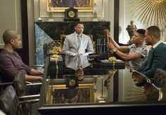 The real life and on-screen appearance of a mansion in Barrington, Illinois, that served as the home of Lucious Lyon in the FOX show Empire. The life of a music mogul isn't easy, based the. Empire Cast, Empire Fox, Drama Series, Tv Series, Lucious Lyon, Empire Season, Empire Records, Hip Hop, Tv Ratings