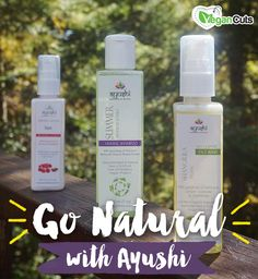 Go Natural: Ayushi Product Review and Giveaway