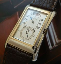 Rolex Prince Jumping Hour Ref.1491 9K Brancard Case
