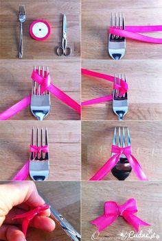 Zobacz zdjęcie Jak zrobić kokardkę? w pełnej rozdzielczości