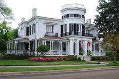 Antebellum Home:  Twin Gables, Columbus, MS