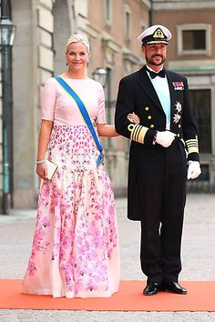 Swedish Royal Wedding: Heavily pregnant Princess Madeleine leads the guests at Prince Carl Phillip and Sofia Hellqvist's nuptials