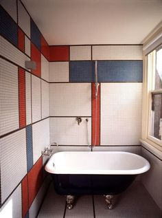Mondrian Bathroom